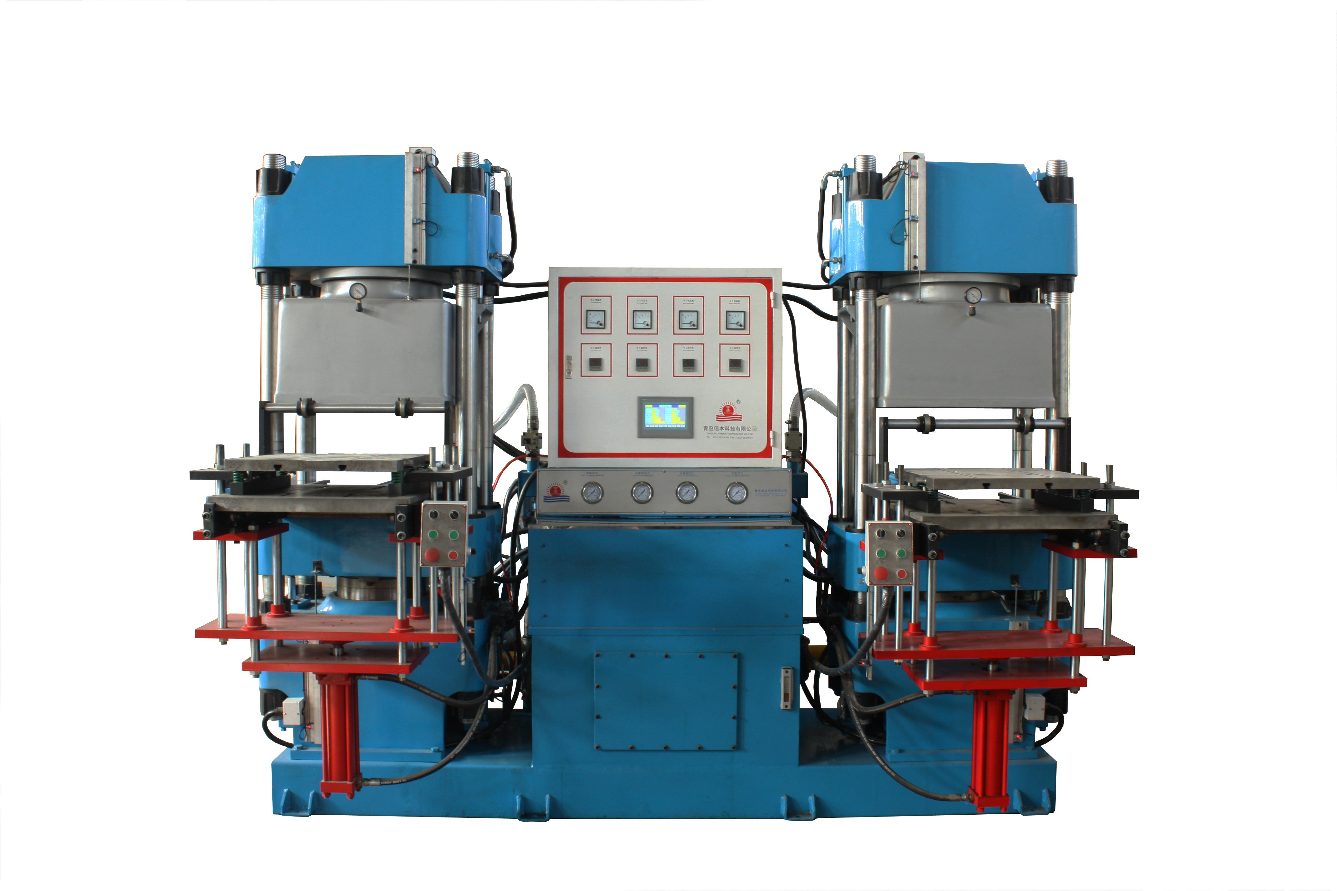 全自动抽真空平板硫化机-信本科技